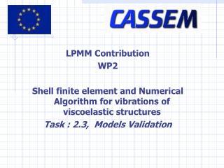 LPMM Contribution WP2