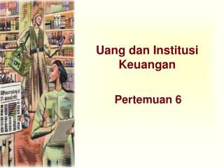 Uang dan Institusi Keuangan