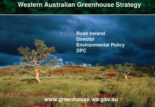 Western Australian Greenhouse Strategy