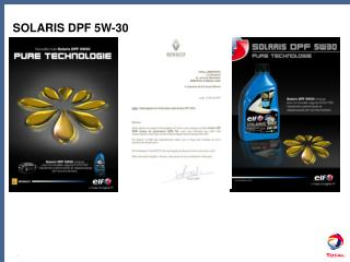 SOLARIS DPF 5W-30