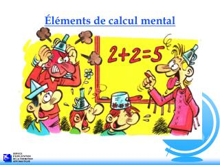 �l�ments de calcul mental
