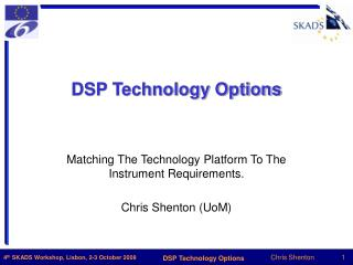 DSP Technology Options