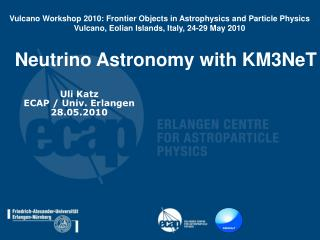 Neutrino Astronomy with KM3NeT