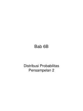 Bab 6B