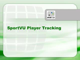 SportVU Player Tracking