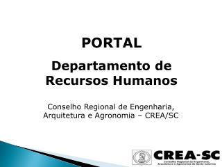 PORTAL Departamento de Recursos Humanos