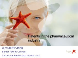 Patents in the pharmaceutical industry