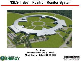 NSLS-II Beam Position Monitor System
