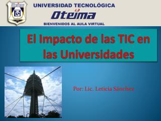 El Impacto de las TIC en las Universidades