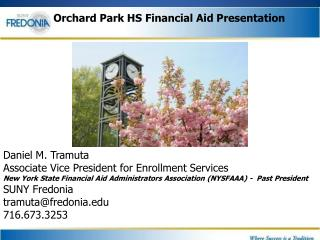 Orchard Park HS Financial Aid Presentation