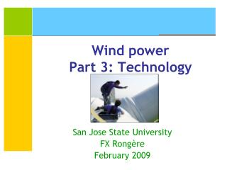 Wind power Part 3: Technology