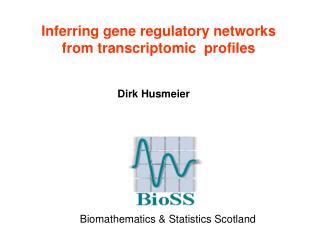 Inferring gene regulatory networks from transcriptomic  profiles
