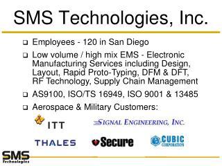 SMS Technologies, Inc.