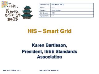 HIS – Smart Grid