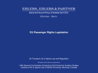 EU Passenger Rights Legislation