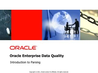 Oracle Enterprise Data Quality