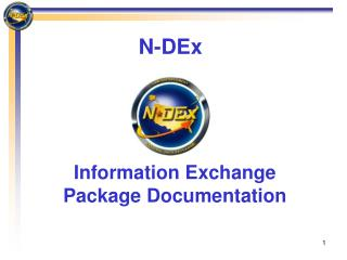 Information Exchange Package Documentation