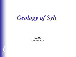 Geology of Sylt