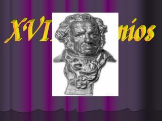 XVIII Premios  Goya