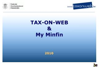 TAX-ON-WEB & My Minfin