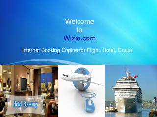 Internet Booking Engine for Flight, Hotel, Cruise