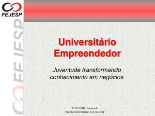 Universitário Empreendedor