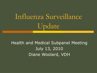 Influenza Surveillance Update
