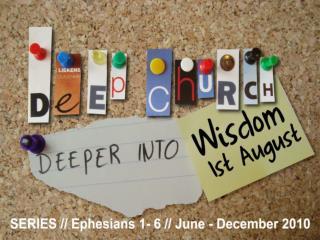 Ephesians 3:7-13 (NIV)