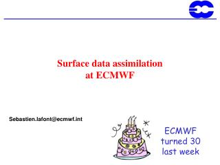 Surface data assimilation  at ECMWF
