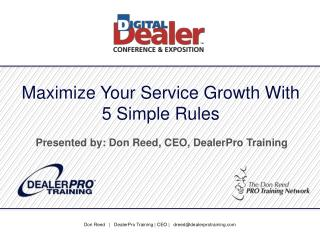 Maximize Your Service Growth With 5 Simple Rules