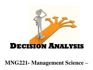 MNG221- Management Science –