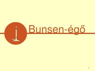 Bunsen-égő
