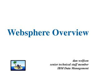 Websphere Overview