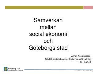 Samverkan  mellan  social ekonomi och  Göteborgs stad