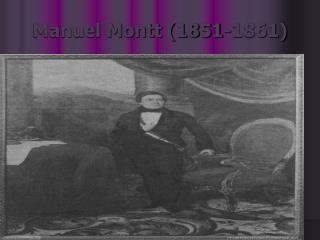 Manuel Montt 1851-1861