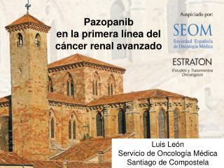 Pazopanib en el tratamiento del  Carcinoma de Células Renales