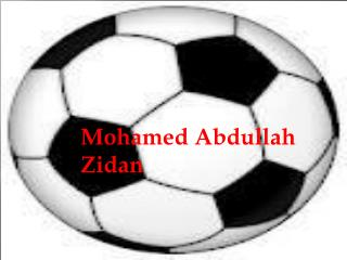 Mohamed Abdullah Zidan