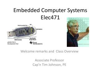 Embedded Computer Systems Elec471