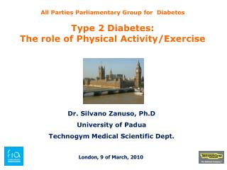 All Parties Parliamentary Group for  Diabetes Type 2 Diabetes: