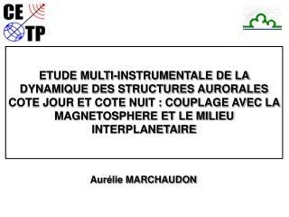 Aurélie MARCHAUDON
