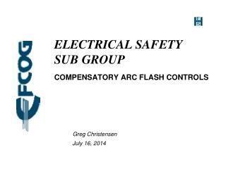 ELECTRICAL SAFETY SUB GROUP