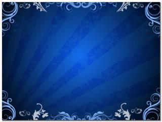 Blue-Floral