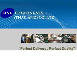 COMPONENTS (THAILAND) CO.,LTD