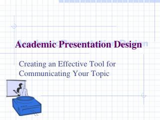 Academic Presentation Design