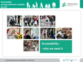 Accessibility - - why we need it