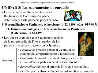 UNIDAD 3: Los sacramentos de curaci n