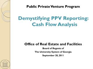 Public Private Venture Program