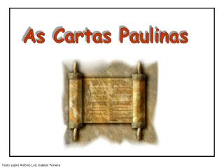 As Cartas Paulinas