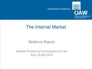 The Internal Market