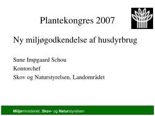 Plantekongres 2007